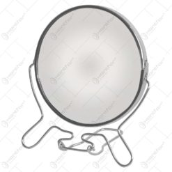Oglinda de masa cu rama realizata din inox - Design Elegant (Tip 1)