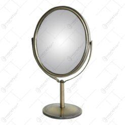 Oglinda tip stativ cu rama realizata din metal - Design Elegant (Tip 1)