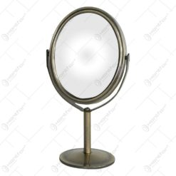 Oglinda tip stativ cu rama realizata din metal - Design Elegant (Tip 2)