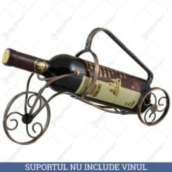 Suport metal pentru sticla de vin (Model 1)