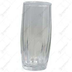 Set 6 pahare pentru suc realizate din sticla