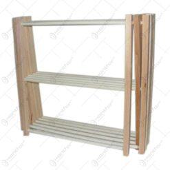 Uscator pentru haine realizat din lemn