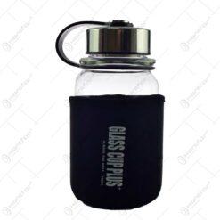 Sticla de apa cu husa termoizolanta - Design cu mesaj