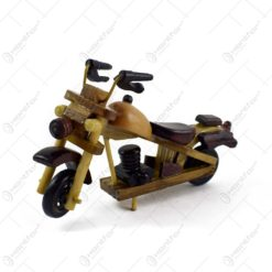Motocicleta realizata din lemn - Diverse modele (Model 1)