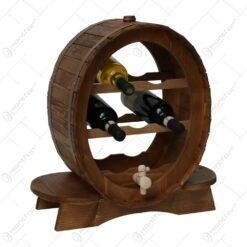Suport lemn pentru 7 sticle de vin