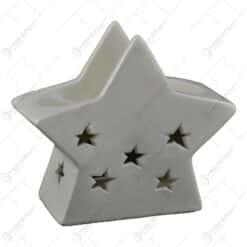 Candela realizata din ceramica - Design Stea