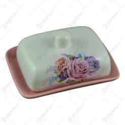 Untiera realizata din ceramica - Design cu trandafiri