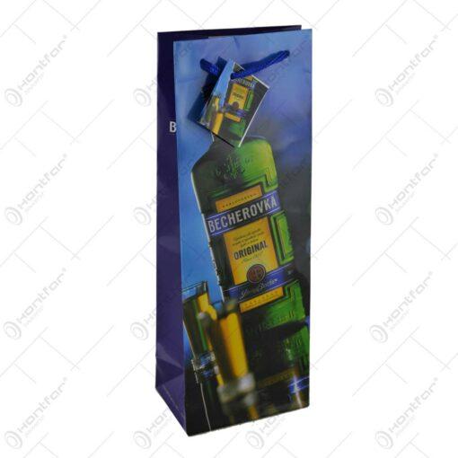 Punga cadou pentru bauturi - Design Becherovka - Diverse modele