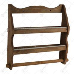 Raft din lemn pentru folii de bucatarie