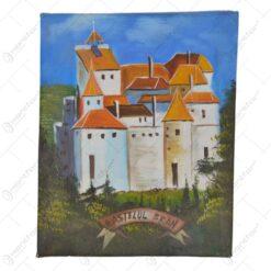 Tablou pentru perete - Design Castelul Bran - 2 modele