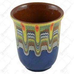 Pahar pentru vin realizat din ceramica - Design Rustic - Diferite modele