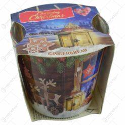 Lumanare parfumata  de Craciun in pahar - Charming Christmas