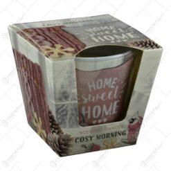 Lumanare parfumata de Craciun in pahar - Warm Touch & Cozy Home