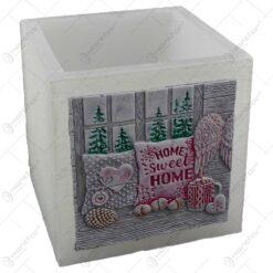 Lumanare craciun tip lampion - Design Home Sweet Home (Model 2)