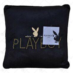 Perna decorativa - Design Playboy cu pietre decorative - Design Playboy cu pietre decorative - Negru (Model 1)