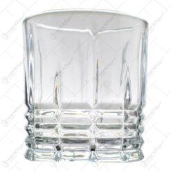 Set 6 pahare realizate din sticla pentru whiskey (Model 1)