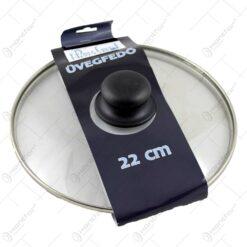 Capac realizat din sticla pentru oala/cratita (Model 2)