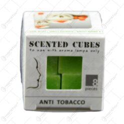 Cuburi parfumate realizate din ceara - Anti Tobacco (8 buc.)