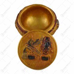 Bomboniera realizata din rasina - Design Egiptean - 7 cm
