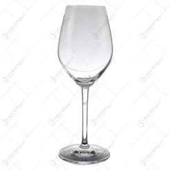 Set 6 pahare realizate din sticla pentru vin
