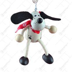 Figurina bungee jumping - Caine dalmatian