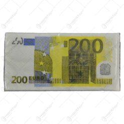 Servetele nazale realizate din hartie - Design 200 Euro