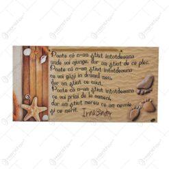 Placheta relizata din lemn - Design Texte Motivationale - Diferite modele