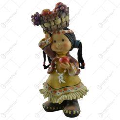 Figurina fata indian realizata din rasina (27CM)