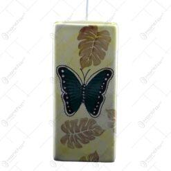 Umidificator de calorifer realizat din ceramica - Design Fluturi & Frunze - Difertite culori