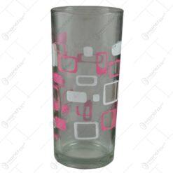 Pahare din sticla. drepte. inscriptionate. cu grafica