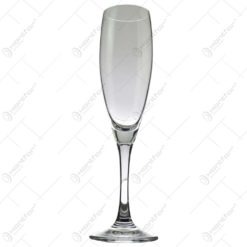 Set 6 pahare realizate din sticla pentru sampanie (Model 2)