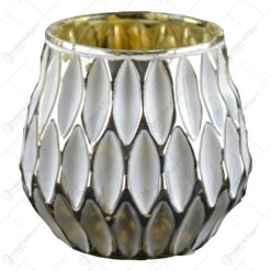 Candela realizata din ceramica - Design Elegant