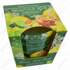 Lumanare parfumata de Craciun in pahar - Homemade Confiture & Homemade Jam