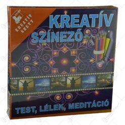 Set creativ pentru colorat - Test. lelek. meditacio