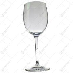 Set 6 pahare realizate din sticla pentru vin alb