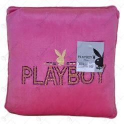 Perna decorativa - Design Playboy cu pietre decorative - Design Playboy cu pietre decorative - Roz (Model 1)