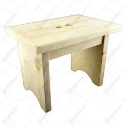 Scaun mic din lemn