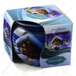 Lumanare parfumata in pahar de Craciun-  Christmas Night
