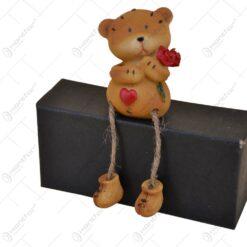 Ursulet realizat din ceramica si material textil - Design Love