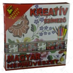 Set creativ pentru colorat - Magyar nepmuveszet