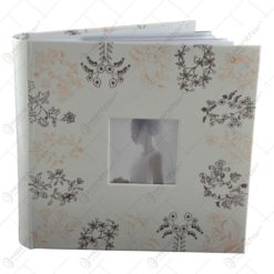 Album pentru fotografii - Design Wedding cu flori (Model 1)