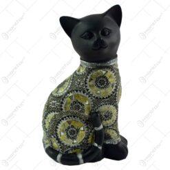 Figurina realizata din rasina in forma de pisica (Model 2)