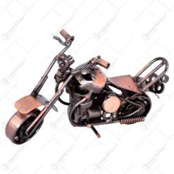 Decoratiune realizata din metal - Motocicleta (Model 2) - Diverse modele