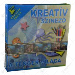 Set creativ pentru colorat - A tenger vilaga