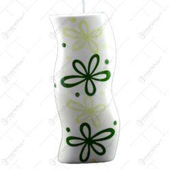 Umidificator de calorifer realizat din ceramica - Design Flowers - Difertite culori (Tip 1)