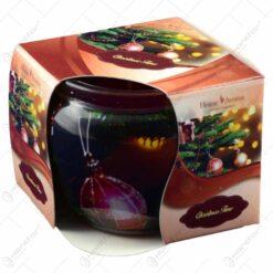 Lumanare parfumata in pahar de Craciun - Christmas Time