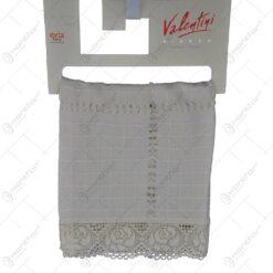 Prosop pentru bucatarie realizat din bumbac - Design dantelat