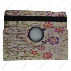 Husa de protectie pentru tableta 25x20cm - Motive florale