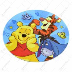 Farfurie intinsa realizata din material plastic - Design Winnie The Pooh