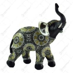 Figurina realizata din rasina in forma de elefant (Model 4)